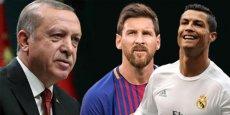 Ərdoğan Messi və Ronaldonu müqayisə etdi: