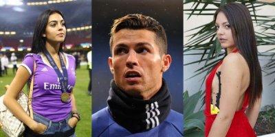 Ronaldo hamilə sevgilisinə bu qızla xəyanət etdi - FOTOLAR