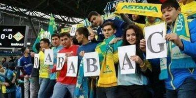 """Astanadan """"Qarabağ""""a dəstək - FOTO"""