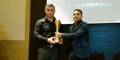 Qurban Qurbanov mükafatına qovuşdu - FOTOLAR
