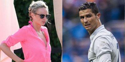 Ronaldo məşhur modelə erotik mesajlar göndərdi, biabır oldu - FOTOLAR