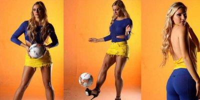 Dünyanın ən gözəl futbol hakimi - FOTOLAR