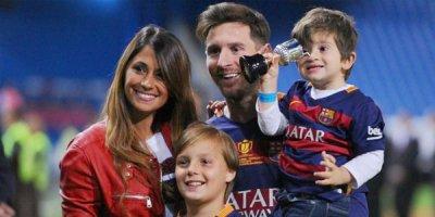 Bu da Messinin yeni doğulan oğlu - FOTO