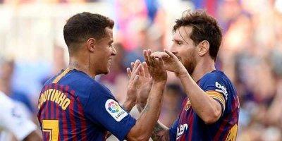 6000-ci qolu Messi vurdu - VİDEO