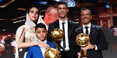Ronaldo yenə ən yaxşı oldu - FOTOLAR