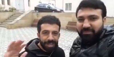 """Arvadını döydüyü üçün həbs olunan idmançı: """"Hər şey superdi..."""" - VİDEO"""