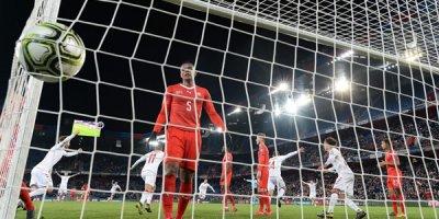 İsveçrə - Danimarka oyununda 6 qol - VİDEO