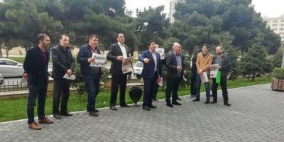 """""""Futbol+""""çilər aksiya keçirdi - FOTOLAR"""