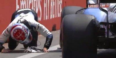 Formula 1-dəki qəza ilə bağlı rəsmi açıqlama