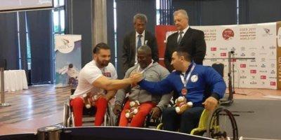 Daha bir paralimpiyaçımız Dünya Kubokunda medal qazandı - FOTO