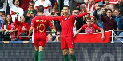 Ronaldo şou göstərdi, Portuqaliya finala çıxdı - VİDEO