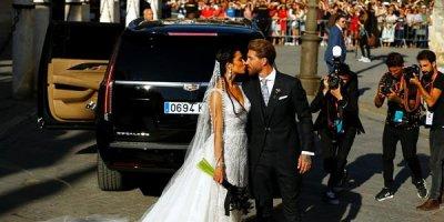 Kapitan 3 uşağının anası ilə evləndi, Ronaldo toya gəlmədi - FOTOLAR