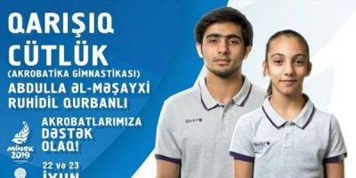 """Azərbaycan """"Minsk-2019""""da ilk medalını qazandı"""