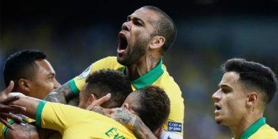 Braziliya Argentinanı Amerika Kubokundan kənarlaşdırdı - VİDEO
