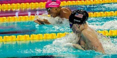 FINA Lilli Kinqin diskvalifikasiyasını təsdiqlədi