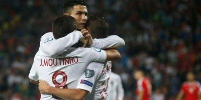 Ronaldo şou göstərdi - VİDEO