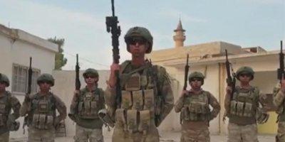 Türk komandolar Suriyadan milli komandaya cavab verdi - VİDEO
