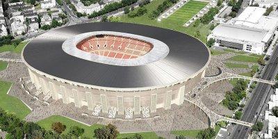 Bu stadiona giriş yalnız kredit kartı ilə mümkündü