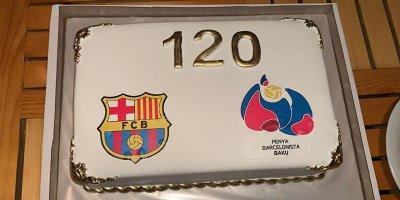 """Bakıda """"Barselona""""nın 120 yaşı qeyd edildi - FOTOLAR"""