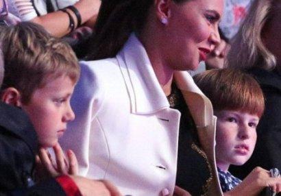 Putinin uşaqlarının anası ilk dəfə görüntüləndi - FOTO