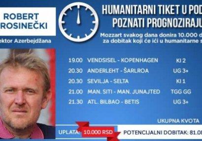 Robert Prosineçki bukmekerdə 10 min uduzdu - FOTOFAKT
