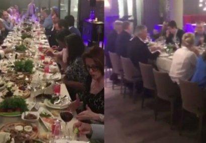 Azərbaycanın nazirləri qonaqlıqda - VİDEO