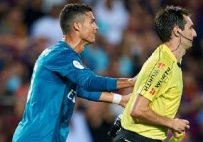 """Ronaldo """"qırmızı""""ya görə cəza almayacaq"""