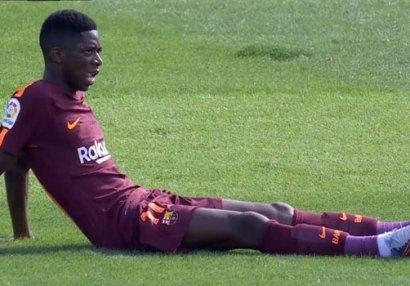 """147 milyonluq transferinin zədələnməsi """"Barselona""""nı sevindirdi"""