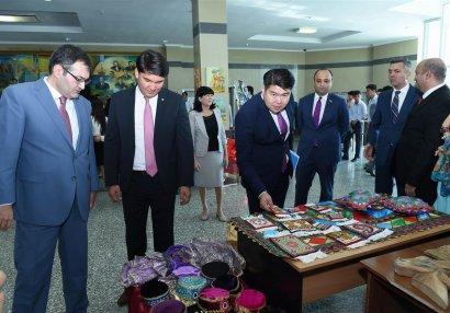 Qazaxıstan - Azərbaycan gənclər günlərinə star verildi - FOTOLAR