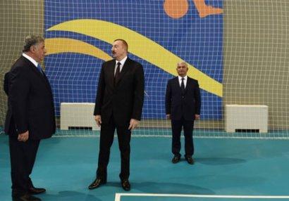 Prezident Olimpiya Kompleksinin açılışında iştirak edib - FOTOLAR