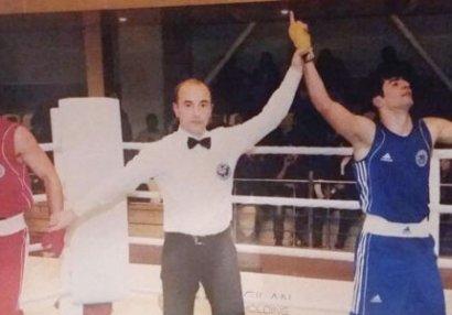 Azərbaycan çempionatında qalmaqal: Boksçu polisə aparıldı - VİDEO