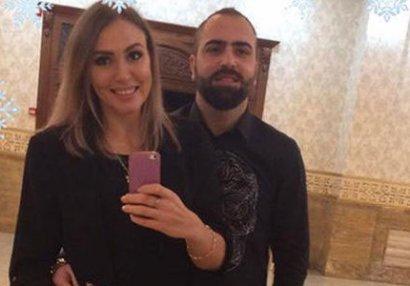 Futbolçumuzla voleybolçumuz evləndi - FOTOLAR