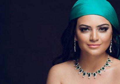 Azərbaycanlı müğənni idman zalında - FOTOLAR/VİDEO