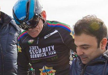 Mədət Quliyev DTX işçiləri ilə birgə veloyürüşdə - FOTOLAR