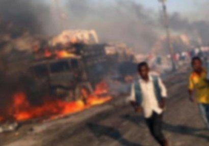 Terrorçular stadionu partlatdı: futbolçular öldü - FOTOLAR