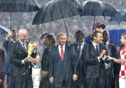 Putin dünya çempionatının medalını