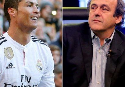 Platini Ronaldonun