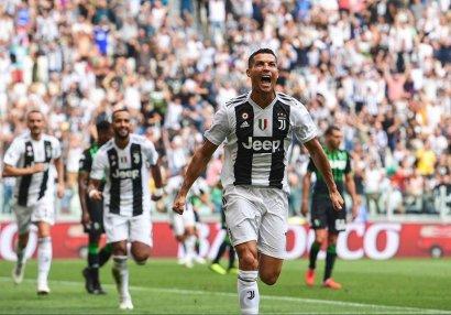 Ronaldo dublla başladı...