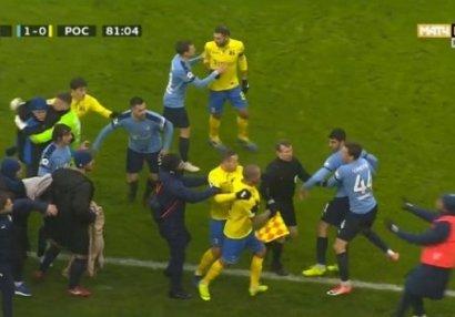 Şeydayevlə dalaşan futbolçu üzr istədi