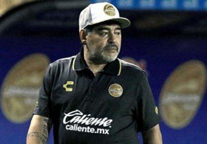 Maradonadan səhhəti ilə bağlı açıqlama