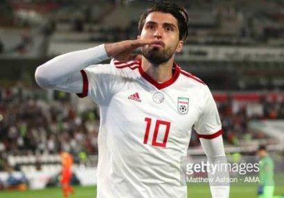 İran millisinin oyununda