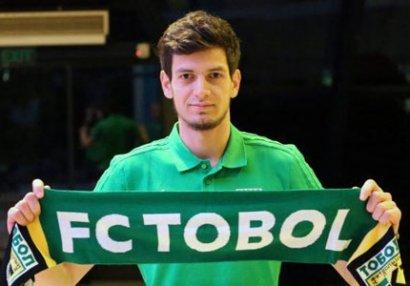 """Emil Balayev rəsmən """"Tobol""""da"""