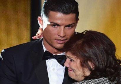 Ronaldonun anasına xərçəng diaqnozu qoyuldu
