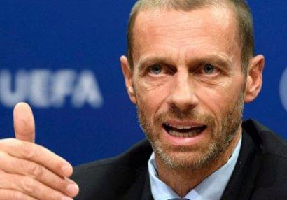 """UEFA prezidenti klubları hədələdi: """"ÇL-dən ayrılanları..."""""""