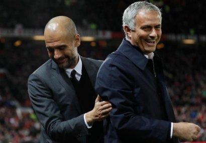 Qvardiola Mourinyoya çatdı