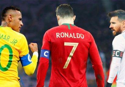 Dünyanın ən çox qazanan futbolçuları - SİYAHI