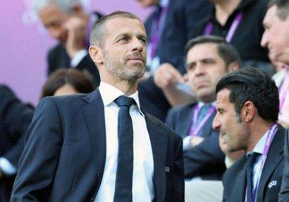 UEFA prezidenti erməninin Bakıya gəlməməsindən danışdı