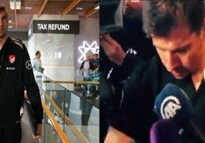 Diplomatik qalmaqal: Türkiyə millisinə İslandiyada hörmətsizlik - VİDEO