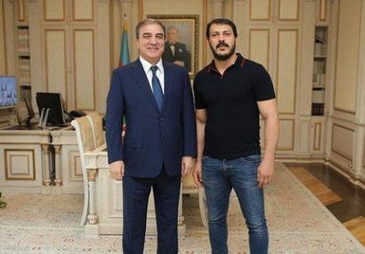 Zabit Səmədov icra başçısı ilə niyə görüşüb? - FOTO