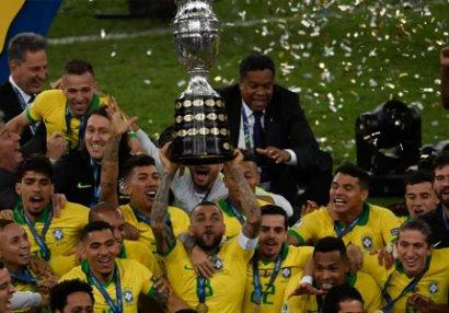 Braziliya 9-cu dəfə Amerika kubokunu qazandı - VİDEO